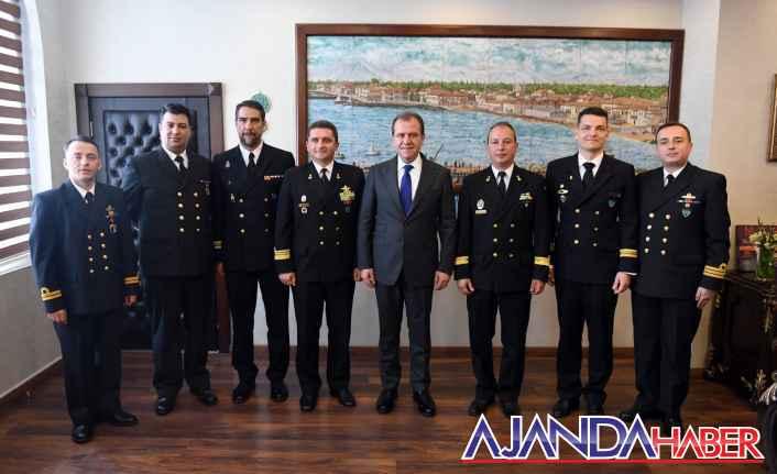 Seçer Nato Komutanlarını ağırladı