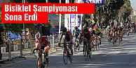 Bisiklet Şampiyonası sona Erdi.