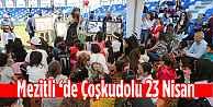 Mezitli#039;de Coşkudolu 23 Nisan