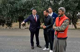 Başkan Özyiğit'in mahalle ziyaretleri sürüyor
