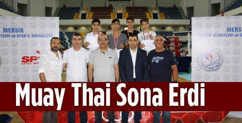 Okul Muay Thai Müsabakası sona erdi
