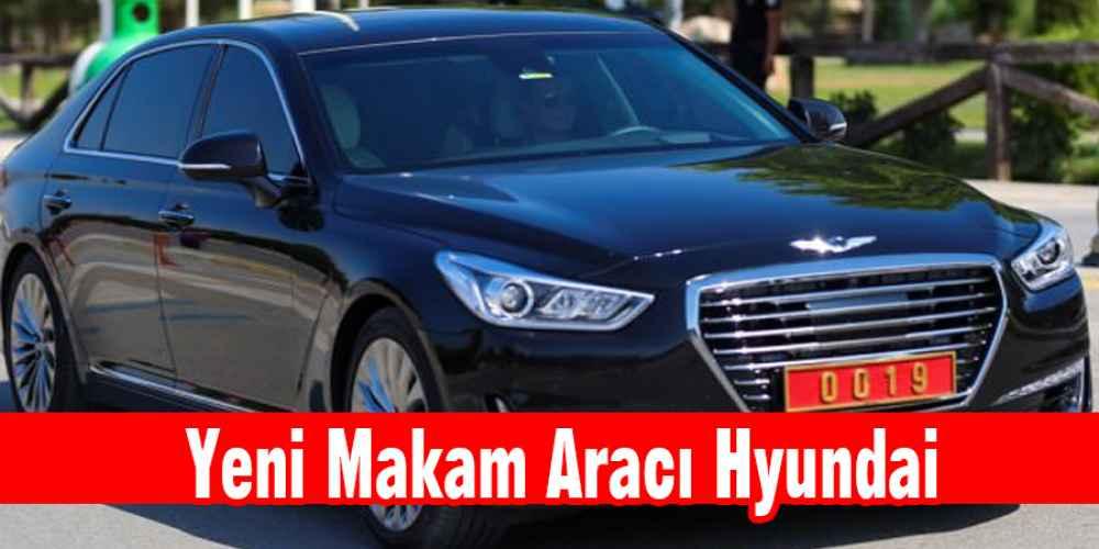 Bakan Zeybekci'nin Makam aracı Hyundai