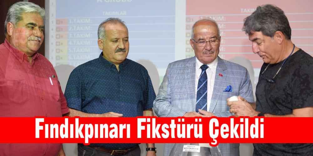 Fındıkpınarı Turnuva Fikstürü Çekildi.