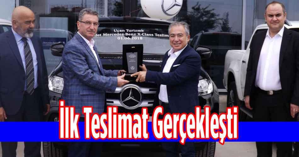 Mercedes-Benz Türk, İlk Teslimatını yaptı