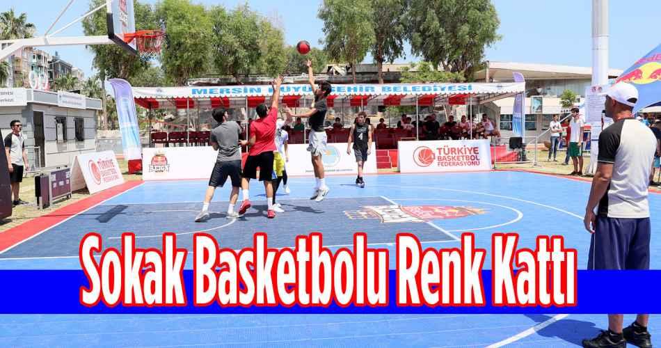 Sokak Basketbolu Renk Kattı