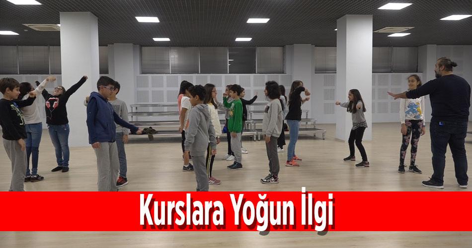 Yenişehir'in Açtığı Kurslara Yoğun ilgi