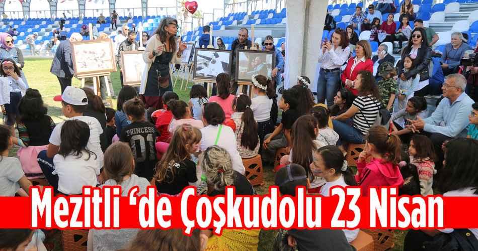 Mezitli'de Coşkudolu 23 Nisan