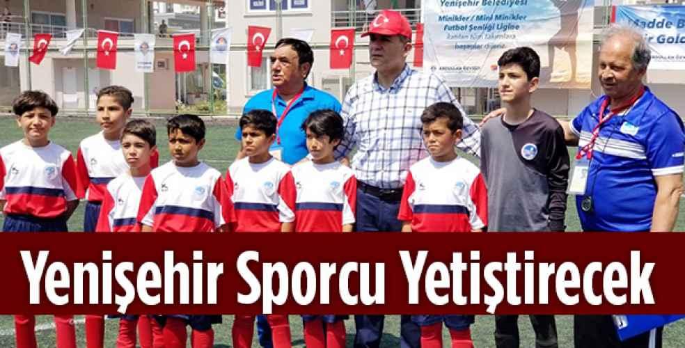Yenişehir Sporcu Yetiştirecek