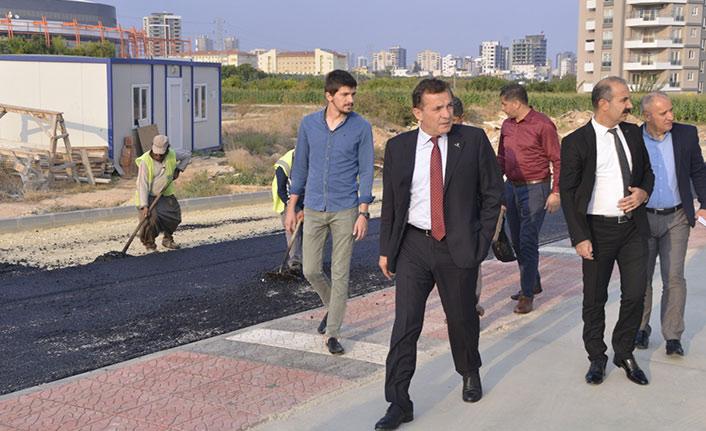 Yenişehir'de Asfalt Çalışmaları Hız Kesmiyor.