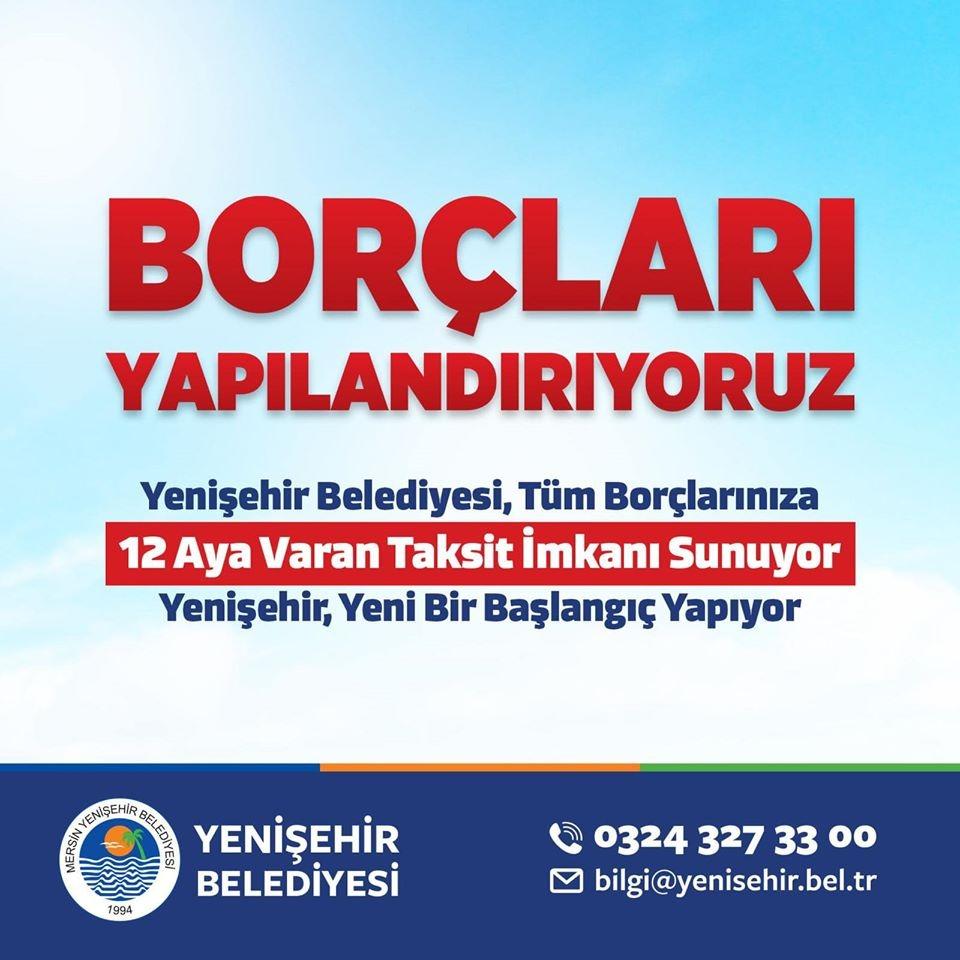 Yenişehir'de borçlar yapılandırılıyor