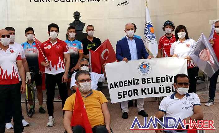 Gültak'tan Atatürk Büstü Açılışı