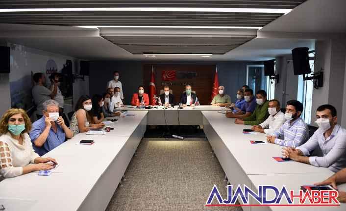 Başkan Seçer; CHP Mersin İl Başkanlığını ziyaret etti