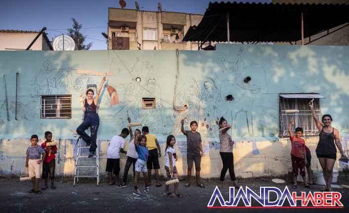 Romanların Sokakları sanatla renkleniyor