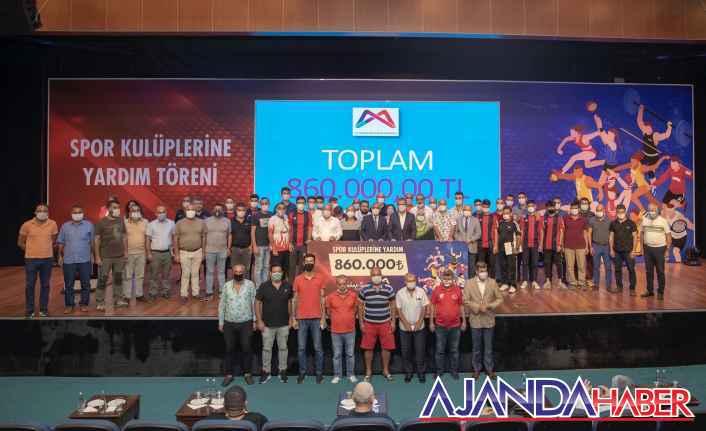 Büyükşehir'den Amatör Kulüplere  Yardım
