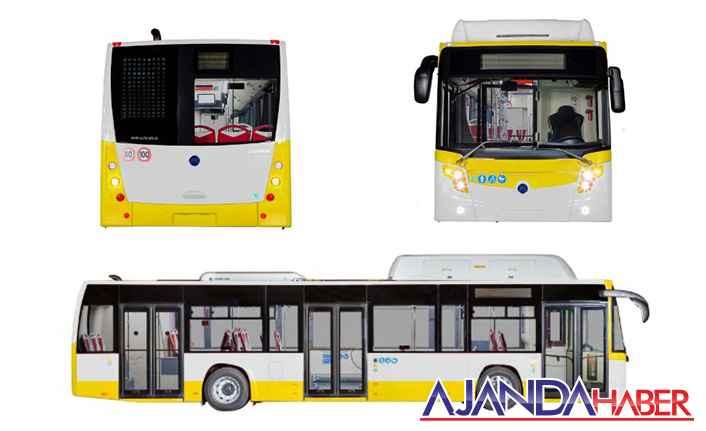 Yeni Otobüsler Limon Renginde geliyor
