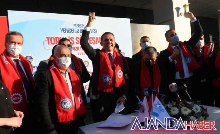 Yenişehir'de Asgari Ücret 3.3883 Tl.