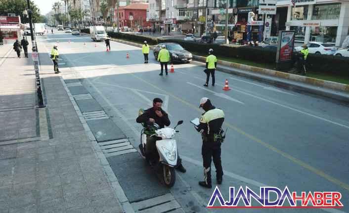 Motorsiklet sürücülerine sıkı denetim