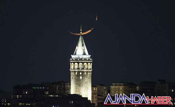 İstanbula inci gibi yakışan yeni hilal