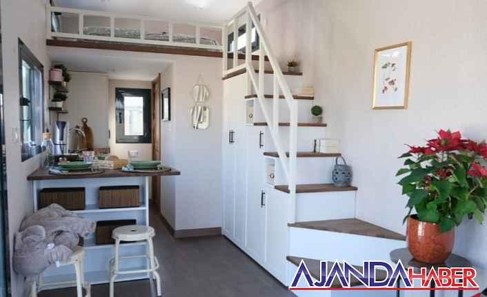 Küçük Evlerin İhtişamı  Tiny House Adalı