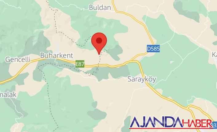 Denizli Sarayköy yakınlarına deprem oldu.