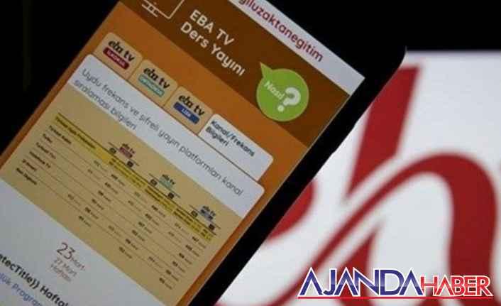 EBA TV 20 Mayıs canlı ders saatleri