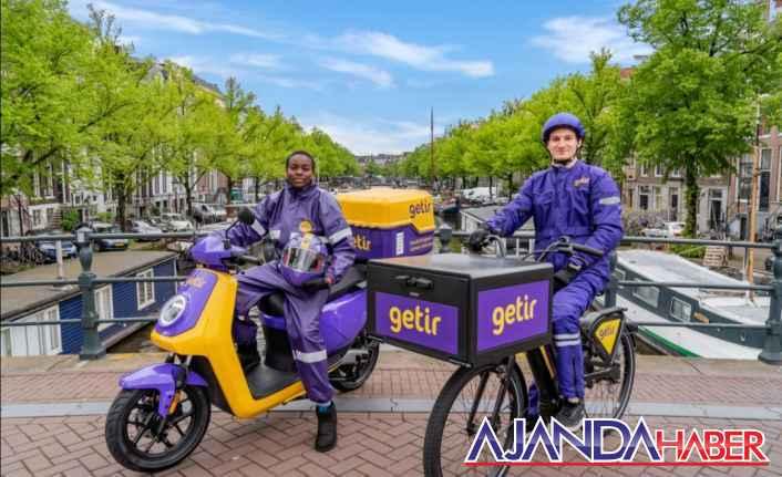 Getir şimdi de Amsterdam'da
