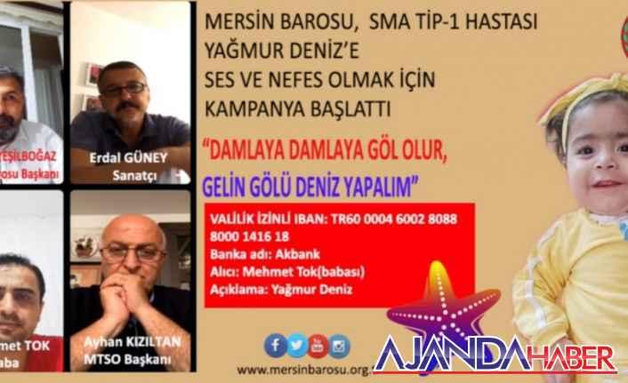 YAĞMUR DENİZ'İ YAŞATMAK İÇİN KAMPANYA..