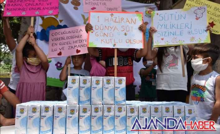 Dünya Süt Günü'de Minikler Bayram Etti.