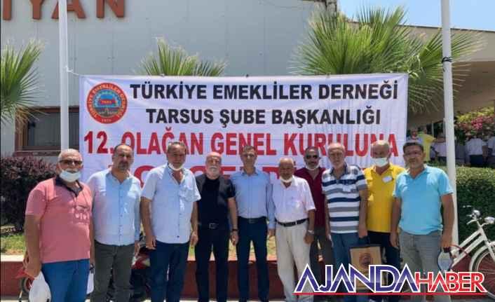 TÜED Tarsus Şube Kongresi yapıldı