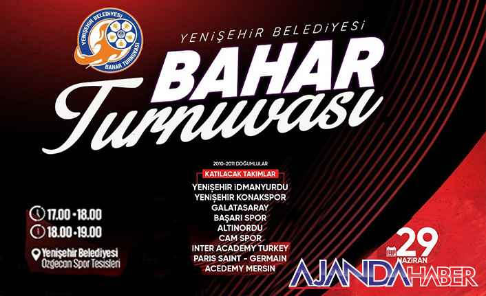 Yenişehir Bahar turnuvasına Hazırlanıyor