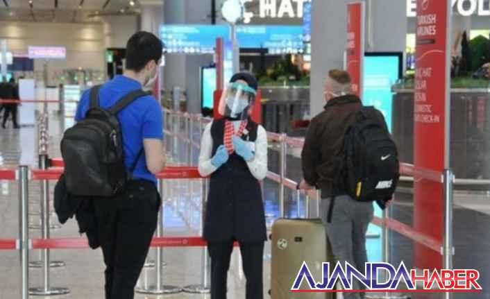 Yurt dışından Türkiyeye gelecekler Dikkat