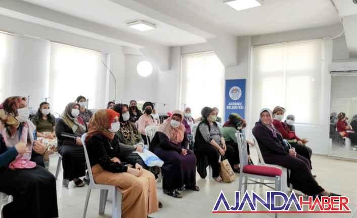 Akdeniz Belediyesi kadınlara yönelik..