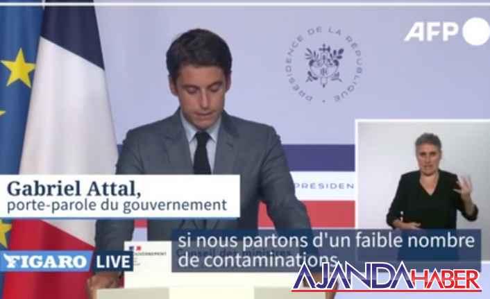 """Fransa, Covid-19 """"dördüncü dalgaya girdi"""""""