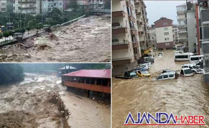 Düşündüren Karadeniz sel Felaketi