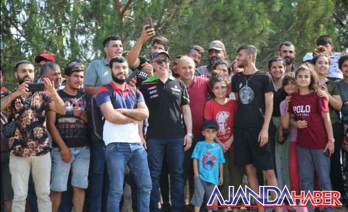 MotoDrag yarışları Akdeniz'de yapıldı