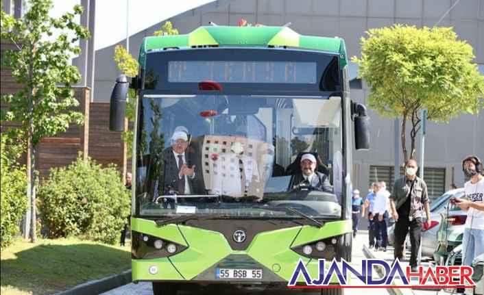Samsun'a Elektrikli otobüsler geliyor.