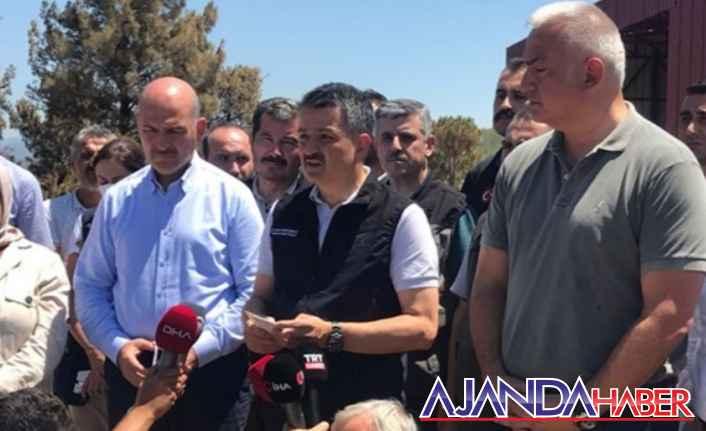 Antalya, Gündoğmuş kontrol altında