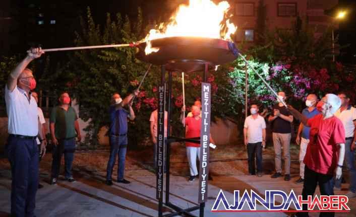 Mezitli'de Zafer Coşkusu Taçlandı