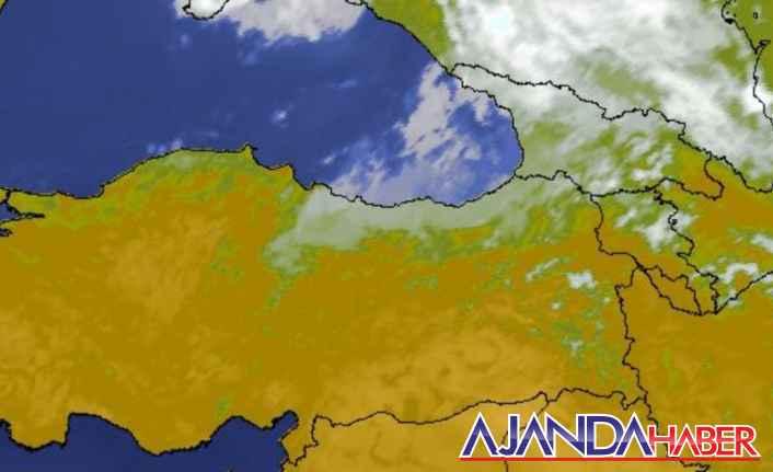 Ordu ve Giresun'da kuvvetli yağış