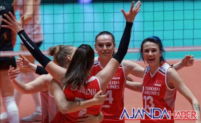 Avrupa Şampiyonası çeyrek finalindeler