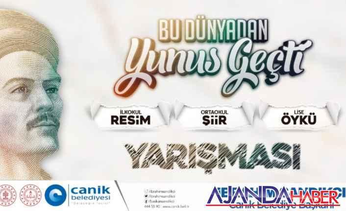 """CANİK'TE """"YUNUS EMRE"""" YARIŞMASI"""