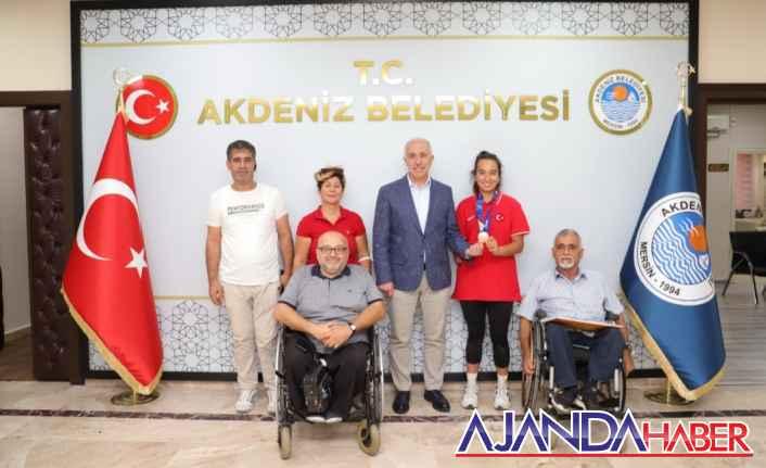 Miray Ulaş'tan Başkan Gültak'a teşekkür