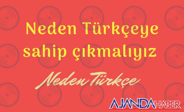 Neden Türkçe?, Neden sahip çıkmalıyız?