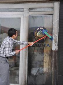 Alkollü Şahıs Belediye Binasına Molotofla Saldırdı
