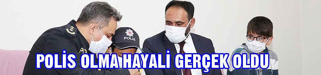 Polis Olma Hayali Gerçek Oldu
