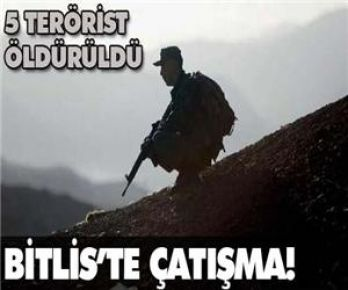 Bitlis'te çatışma