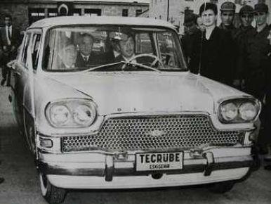 Devrim'den sonra ilk yerli otomobil Mersinde