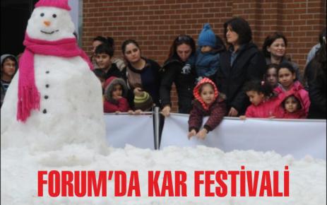 Forum'da Kar Festivali
