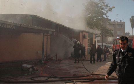 Hastane Yangını Korkuttu