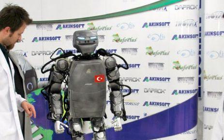 İşte yerli insansı robot!